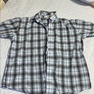 Wrangler short sleeved button up